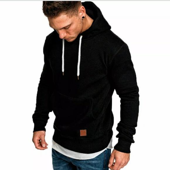 Other - Men's Slim Fit Hoodie Hooded